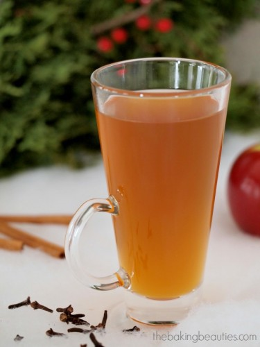 Spiced Apple Cider from Apple Juice