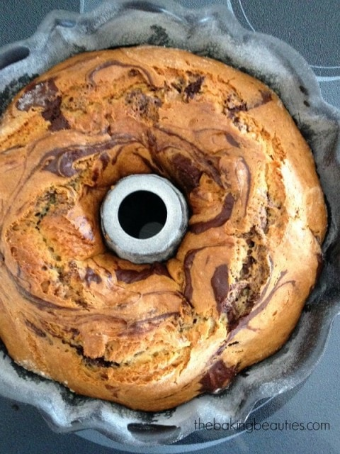 Gluten Free Marble Bundt Cake from The Baking Beauties