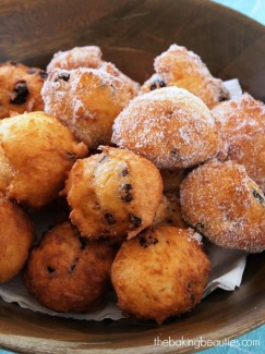 Gluten Free New Years Cookies (or Oliebollen) from The Baking Beauties