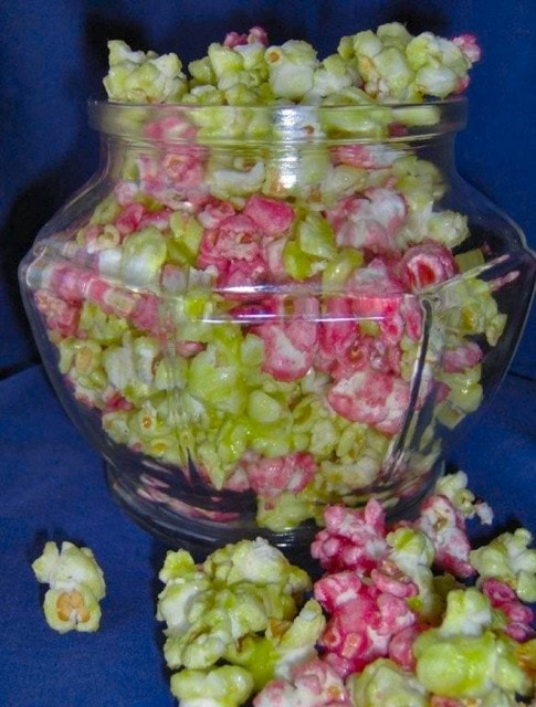 Jello Popcorn from The Baking Beauties