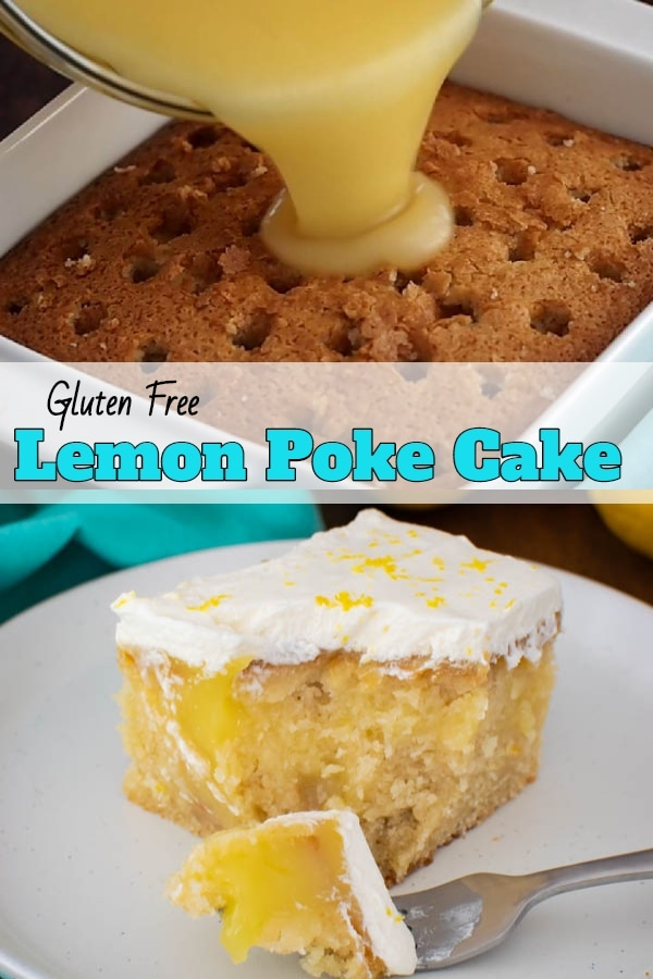 Gluten Free Lemon Poke Cake recipe