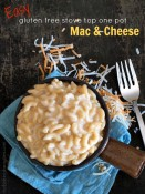 Easy Gluten Free Stove Top One Pot Macaroni and Cheese from The Baking Beauties