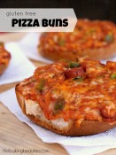 Don't know what's for dinner tonight - Gluten Free Pizza Buns to the rescue!