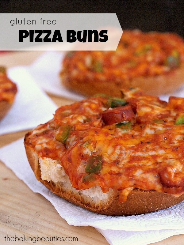 Gluten Free Pizza Buns – Plus 5 Reasons Your Kids Should Eat Gluten Free