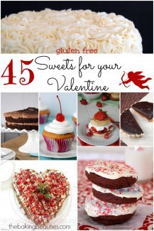 45 Gluten Free Sweets for your Valentine's