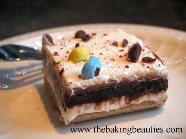 Gluten Free Six Layer Dessert from The Baking Beauties