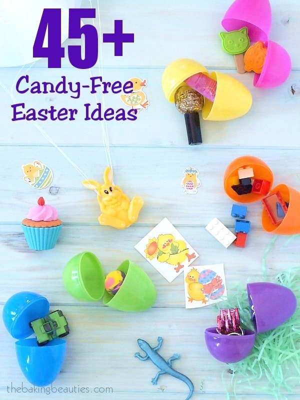 Skip the sugar rush - 45+ Candy Free Easter Ideas from the Baking Beauties #ad