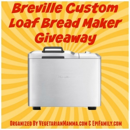 Enter to Win this Breville Custom Loaf Bread Maker