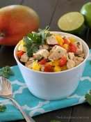 This quick, easy Turkey Mango Salad is a great use for leftover turkey!
