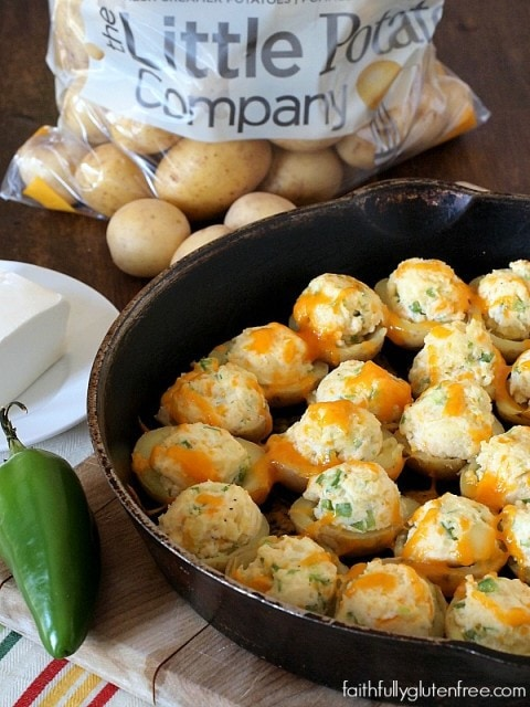 Potato Poppers are a great make-ahead appetizer!