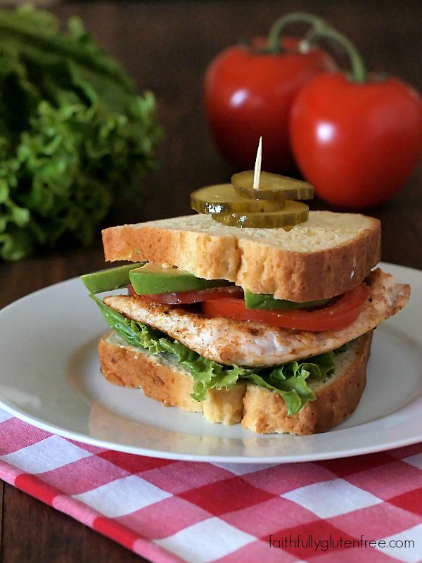Cajun Turkey Sandwiches are perfect for picnics or lunch kits (Gluten Free)