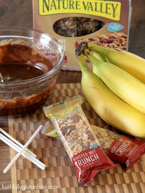 Banana Chocolate Nut Crunch Bites from Faithfully Gluten Free
