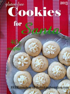 Free Gluten Free Cookies for Santa E-Book from Faithfully Gluten Free