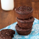 Healthy Gluten Free Double Chocolate Zucchini Muffins