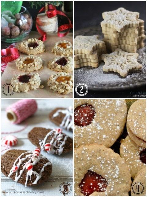 50+ Gluten Free Christmas Cookies