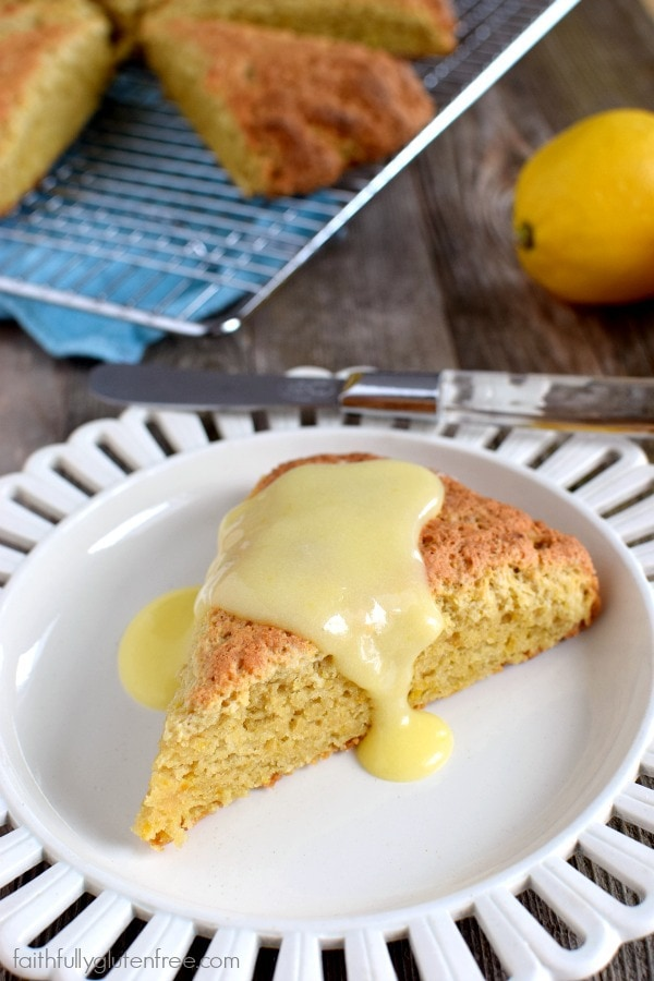 Delicious doesn't have to be complicated. These simple Gluten Free Lemon Scones are a great example of that!