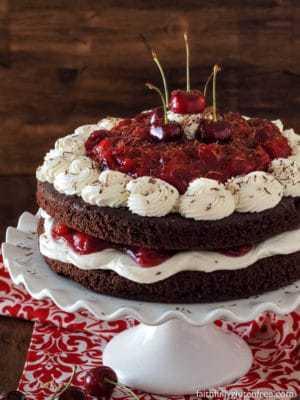 Black Forest Cake Recipe No Alcohol