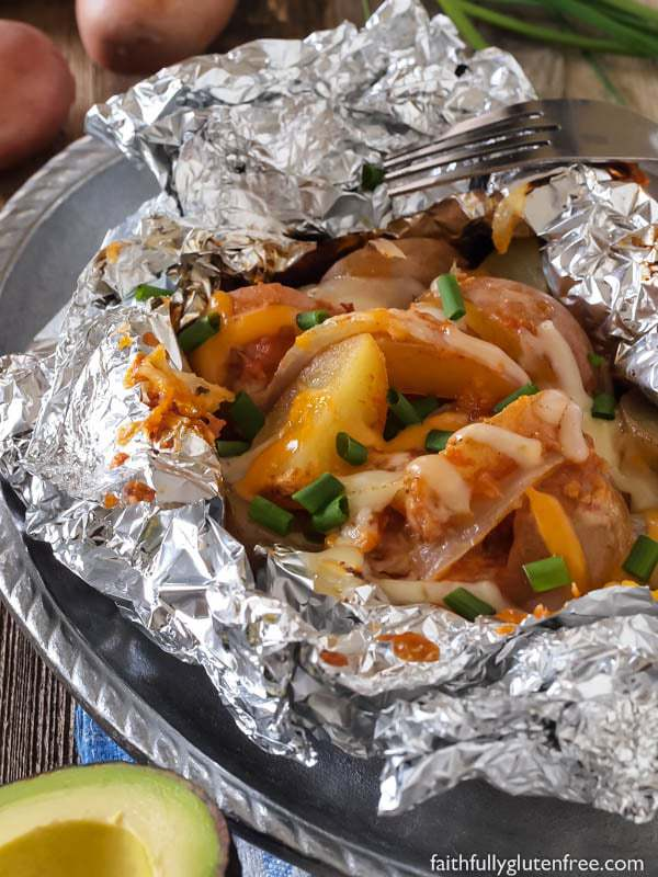 Easy Mexican Tin Foil Dinners