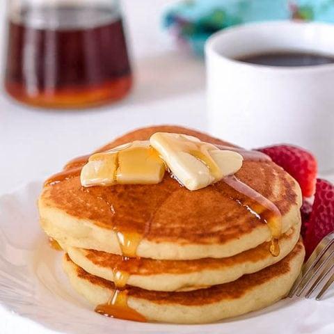 Light and Fluffy Gluten Free Buttermilk Pancakes