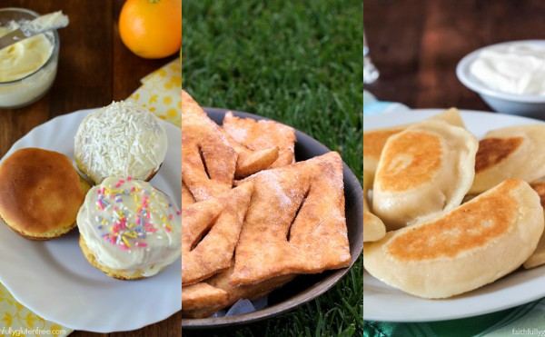 Gluten Free Mennonite Foods - Paska, Rollkuchen, and Perogies
