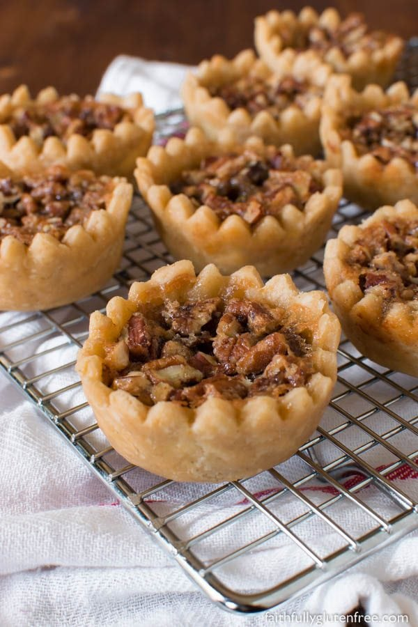 Gluten Free Maple Butter Tarts