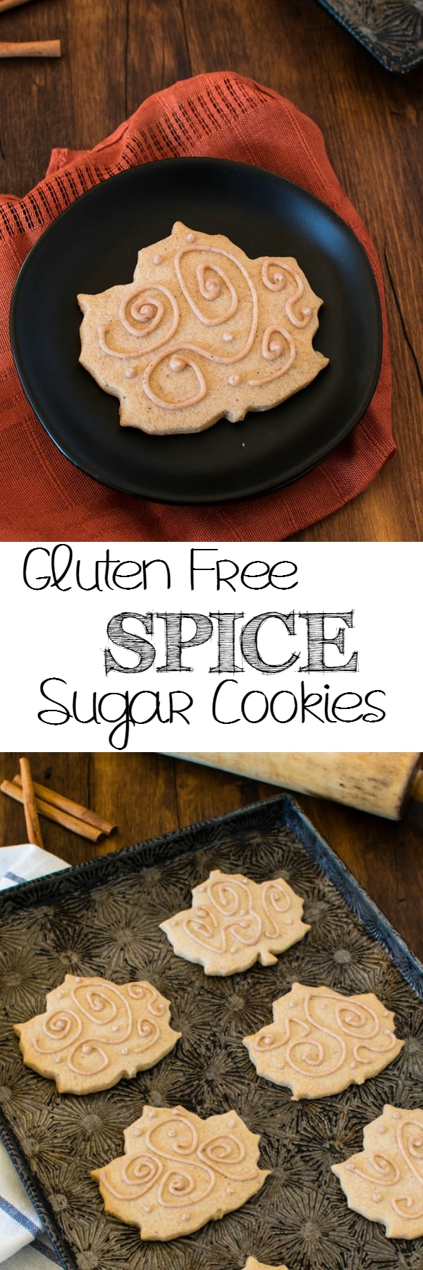 Add a little extra kick to the ordinary with these gluten free Spice Sugar Cookies. Perfect for the holiday cookie trays.
