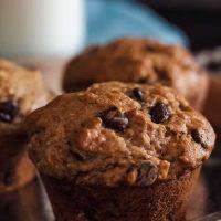 Moist Gluten-Free Chocolate Chip Banana Muffins