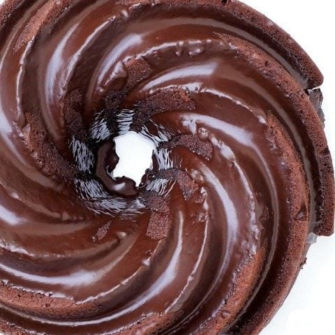 Gluten Free Chocolate Buttermilk Bundt Cake