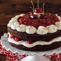 Flourless Black Forest Cake