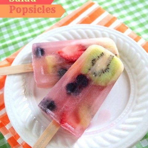Fruit Salad Popsicles and a Giveaway
