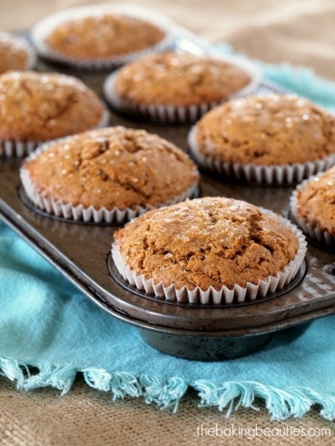 Gluten Free Gingerbread Muffins