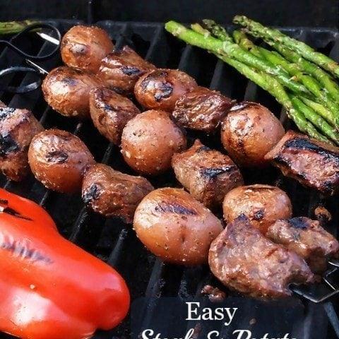 Easy Steak and Potato Kabobs