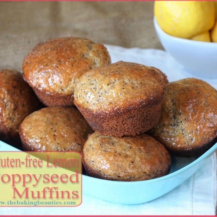 Gluten Free Lemon Poppy Seed Muffins