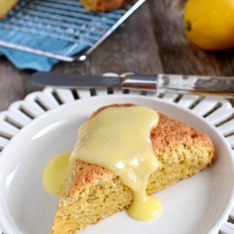 Simply Delicious Gluten Free Lemon Scones