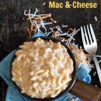 Easy Gluten Free Stove Top One Pot Macaroni and Cheese