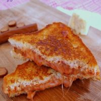 Gluten Free Pizza Grilled Cheese Sandwiches