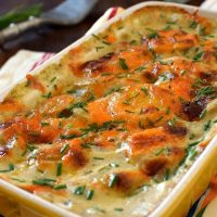 Easy Cheesy Ranch Scalloped Potatoes