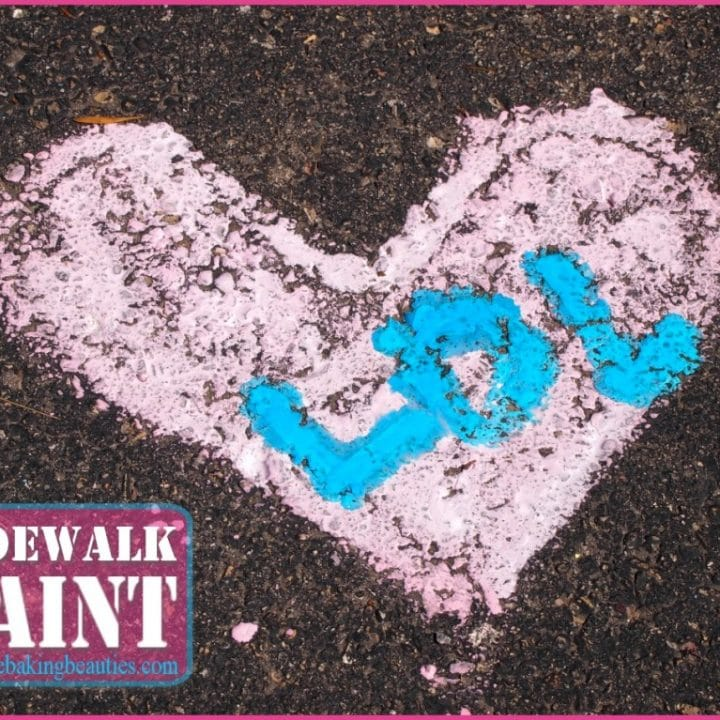 Keep the Kids Busy with Sidewalk Paint