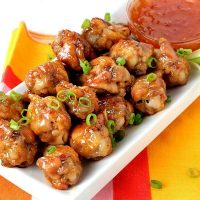 Crispy Baked Sweet and Spicy Chicken Wings