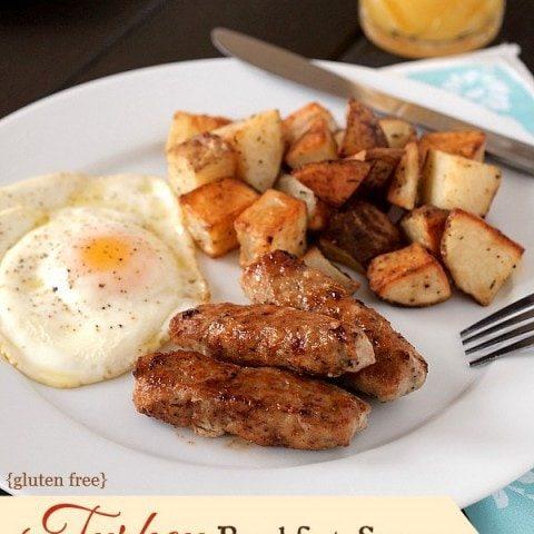 Turkey Breakfast Sausages