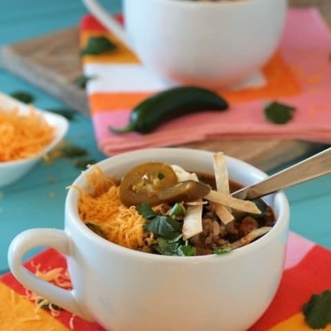 Quick and Easy Beef and Bean Burrito Soup