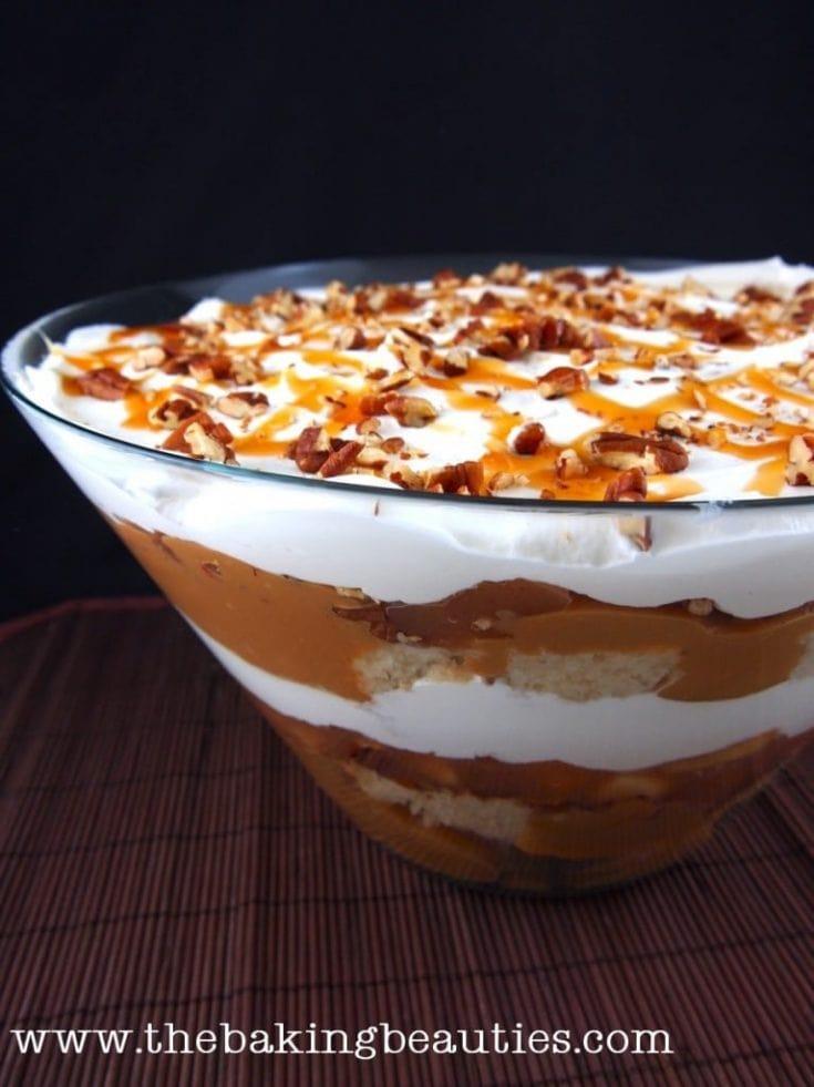 Gluten Free Caramel Apple Trifle