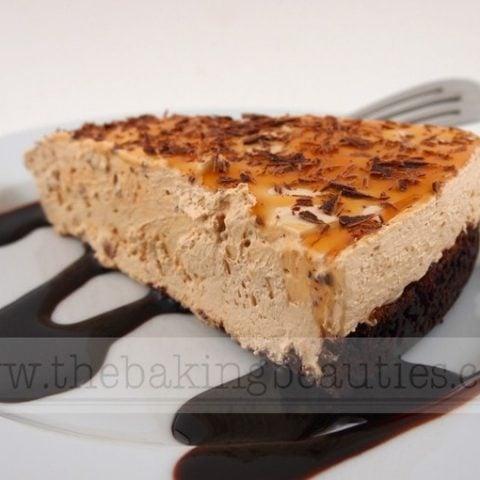 Gluten-Free Caramel Macchiato Cheesecake