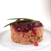 Cheese Stuffed Turkey Meatloaf
