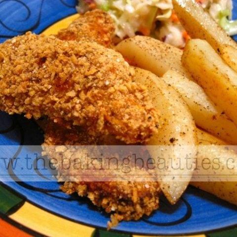 The Best Gluten-Free Chicken Fingers (Baked, not Fried!)