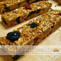 Gluten Free Homemade Granola Bars