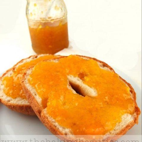 Mango, Vanilla, Lime and Cardamom Jam