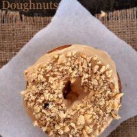 Gluten Free Maple Walnut Doughnuts