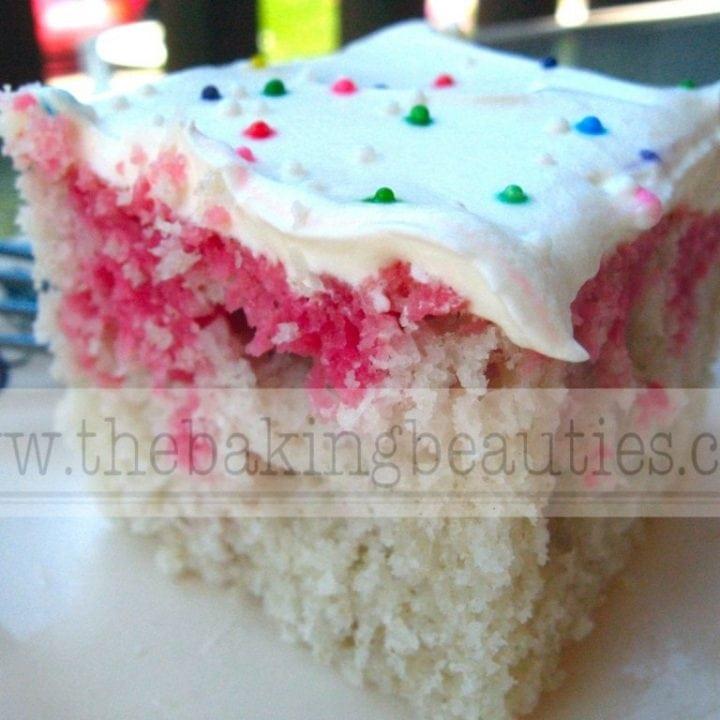 Gluten Free Retro Jello Cake