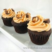 Gluten Free Snickers Cupcakes
